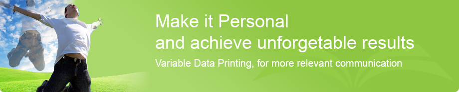 Variable Data Printing (VDP)
