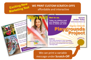 Custom Scratch Offs for Direct Mail Printing