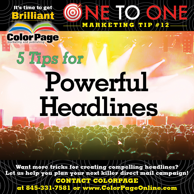 5 tips for powerful headlines