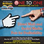 direct mil and social media pair for profitability